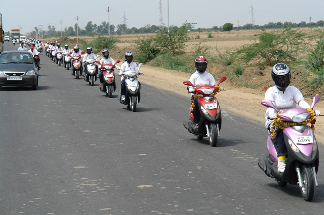 Photo of Jhansi to Kalpi Ride on Kinetic Flyte
